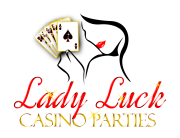 Casino Party Logo Design