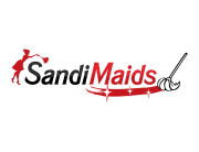 Maid cleaning service logo