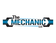 Auto repair mechanic logo design