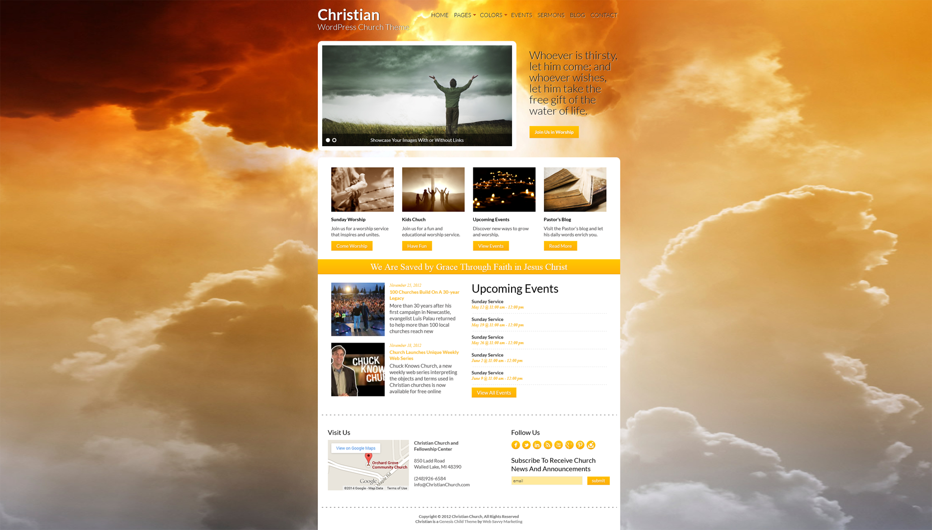 Church Website Design Church Website