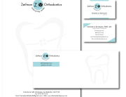 Dentist Letterhead Design Business Card Design