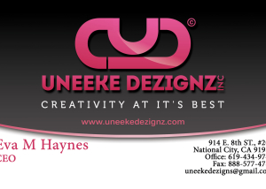 Fashion Design Business Card