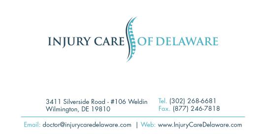 Chiropractor Business Card Design Service