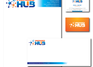 Technology Company Letterhead Package Design