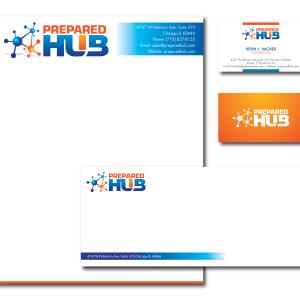 Technology Company Letterhead Package Design
